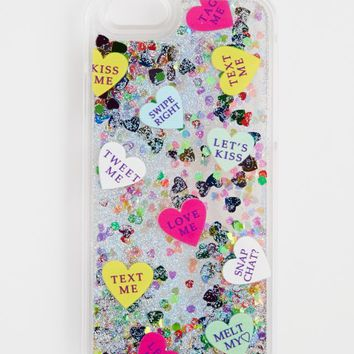 iPhone 6/6S Glitter Expression Heart Case | Phone Cases | rue21