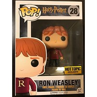 Ron Weasley (Sweater) Harry Potter Funko Pop! #28 Exclusive