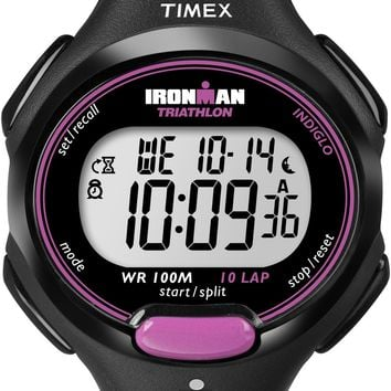 Timex Womens Ironman Digital Pink Sport Watch