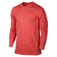 Nike Dri-FIT Touch Long-Sleeve Men's Training Shirt Size Medium (Red)