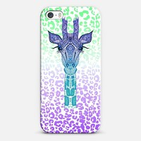 New *** NEON GIRAFFE ***  iphone case iPhone 5s case by Monika Strigel | Casetify