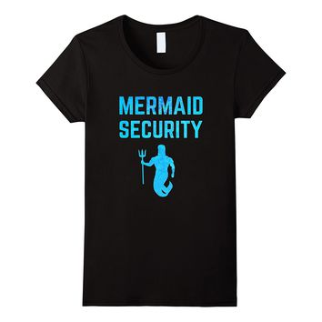 Majestic Mermaid Security T-Shirt