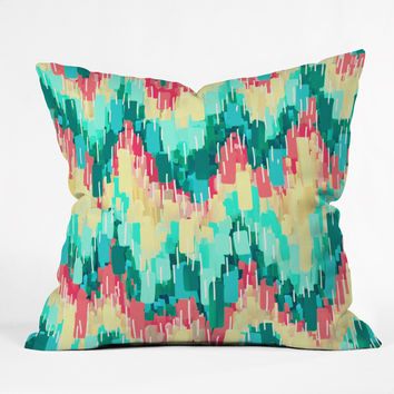 Jacqueline Maldonado Rush 01 Throw Pillow