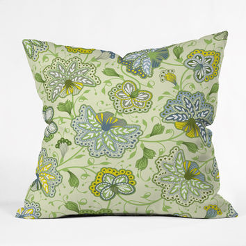 Sabine Reinhart Colors Of The Wind Outdoor Throw Pillow