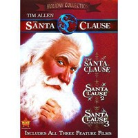 The Santa Clause: 3 Movie Collection  (3 Discs)(Dual-layered DVD)