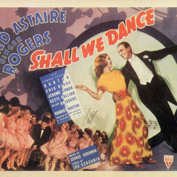 Shall We Dance 11x14 Movie Poster (1937)