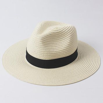 Straw Breathable Bucket Cap