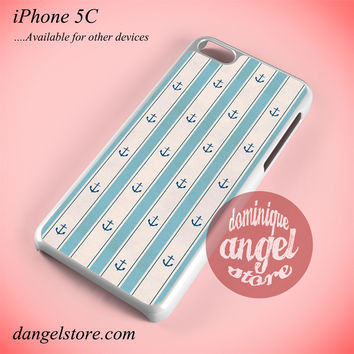 Anchor Light Blue Phone case for iPhone 5C and another iPhone devices