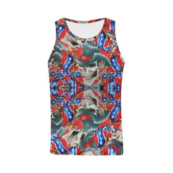 Rebel Cowboy Men's All Over Print Tank Top