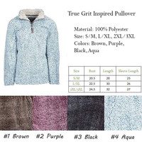 True Grit Inspired Pullover
