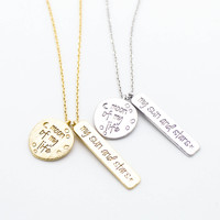Moon of my life necklace