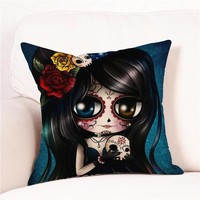 Day Of The Dead Pillowcases (17 Types)