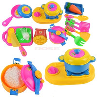 17pcs Play House Toys Small Kitchenware Simulation Kitchen Utensils Toy 8837 Baby = 1745339524
