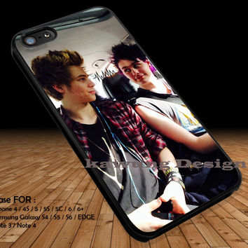 The Look Between Them iPhone 6s 6 6s+ 5c 5s Cases Samsung Galaxy s5 s6 Edge+ NOTE 5 4 3 #music #5sos DOP2190