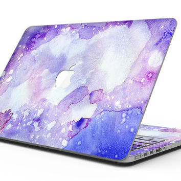 Blue 4 Absorbed Watercolor Texture - MacBook Pro with Retina Display Full-Coverage Skin Kit