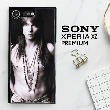 Axl Rose Guns And Roses Wallpaper Y0566 Sony Xperia XZ Premium Case