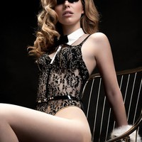 Black BLVD 5th Avenue Bodysuit – Fräulein Kink