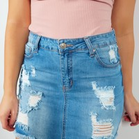 Plan On This Skirt: Denim