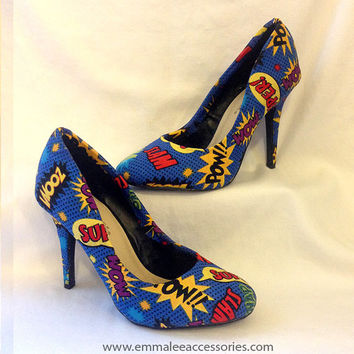 2eee7d863fe82d Best Comic Book Heels Products on Wanelo