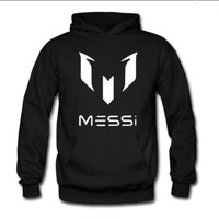 Barcelona Barcelona / Messi 10 / MESSI / LOGO hooded sweater jacket for men and women soccer