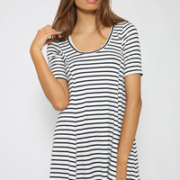 Nautical Time Dress - Stripe