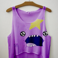 Lumpy Space Princess Crop Top | fresh-tops.com