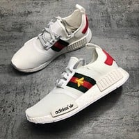 Adidas Gucci nmd BEE Trending Fashion Casual Sports Shoes
