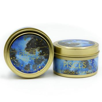 Often Wander - Pisces Travel Candle