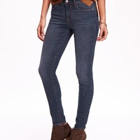 Old Navy Mid Rise Rockstar Skinny Jeans