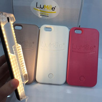 Luminous Led Light Selfie Case Phone Back Selfie Light Cover For Iphone 6 6s Plus Iphone 5 5s Se Samsung Galaxy S6 S7 Edge