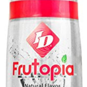 ID Frutopia Sexual Lubrication Natural Fruit Flavored Red Raspberry 3.4 oz