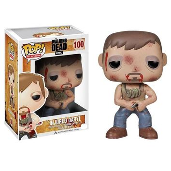 Funko pop Official TV: THE Walking Dead - Injured Daryl Vinyl Action Figure Collectible Model Toy with Original Box
