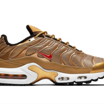 HCXX Nike Air Max Plus Metallic Gold b6e37d03dd7c
