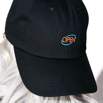 Open Sign Dad Hat