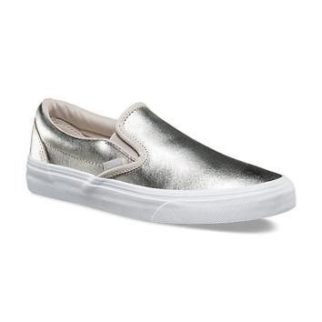 Metallic Slip-On | Shop Shoes At Vans