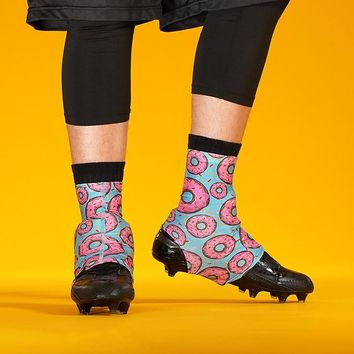 Pink Donuts Spats / Cleat Covers