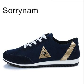 SORRYNAM New Mens Shoes Casual Men's Flats Zapatos Hombre Loafers Fashion Man canvas Shoes Breathable Walking simple/life TT52