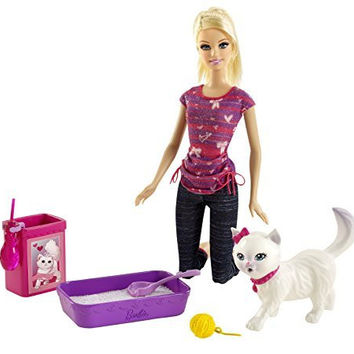 Barbie Potty Training Blissa Barbie Fashion Doll and Pet Playset