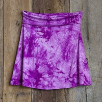Small  Purple  Tie-Dye  Short  Skirt  From  Natural  Life