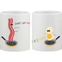 Funny Bacon and Eggs Unique Coffee Mugs - 365 Printing Inc