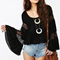 Faithful Top - Black in  Clothes at Nasty Gal