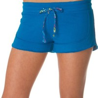 French Terry Printed Inner Waistband Solid Cotton Shorts ( Multiple Colors & Sizes )