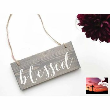 Blessed Sign, Intention Word, Blessed Decor,
