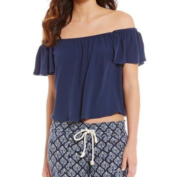 Roxy Princess In The Sea Off-The-Shoulder Top | Dillards