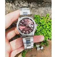 Rolex New Fashion Tide Brand Women Men Watches Fashion Watches
