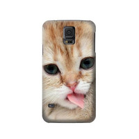 P0350 Cat Kitty Phone Case For Samsung Galaxy S5