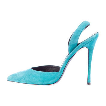 Elyse Walker Suede Pumps w/ Tags