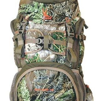 Markhor Elk Mountain 45 RealTree Max1 Camo Backpack w 6 Pockets & 2 Compartments