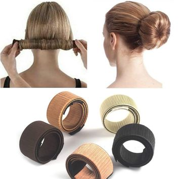 Fast Hair Stylish Donut Bun Maker