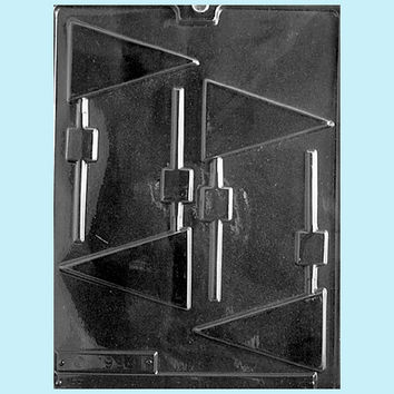 Pennant Lollipop Chocolate Mold